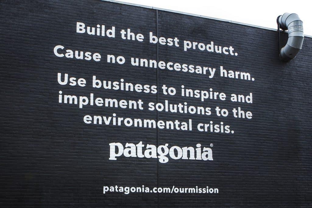 patagonia branding purpose