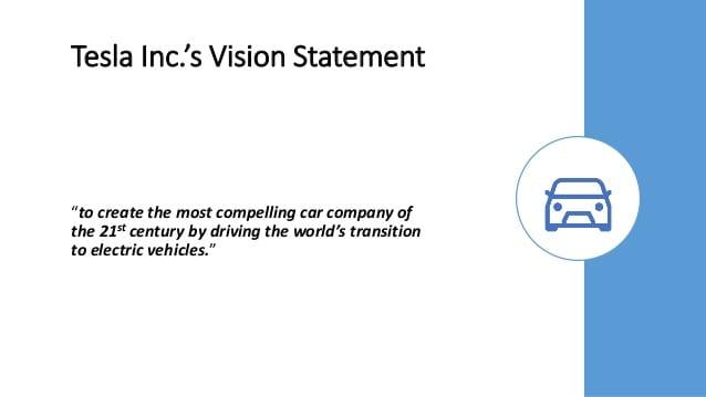 tesla vision and mission